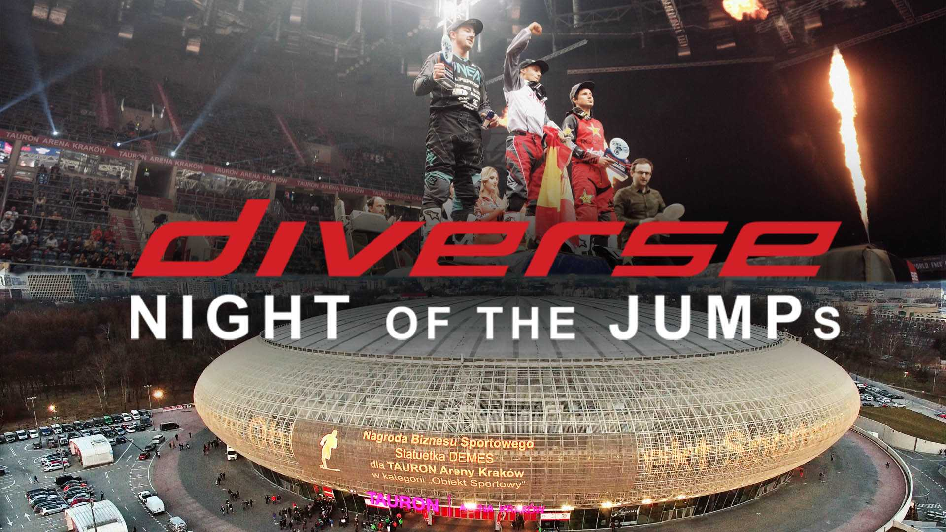 Diverse Night of the Jumps 2018 Kraków
