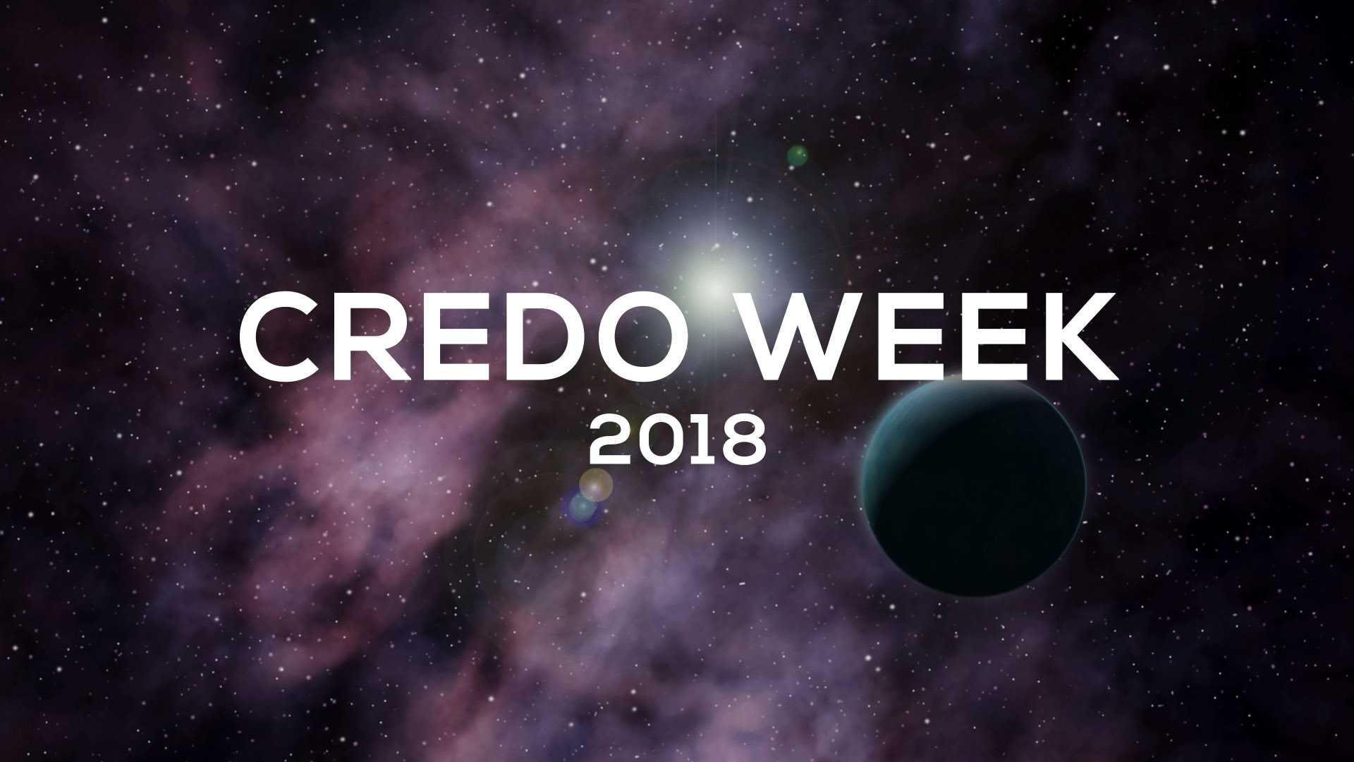 CREDO WEEK 2018 – The Cosmic-Ray Extremely Distributed Observatory Conference